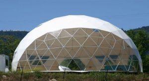 cupola geodetica energia