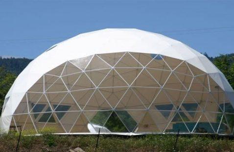 Fornitura cupole geodetiche in acciaio