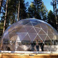 cupola geodetica alluminio