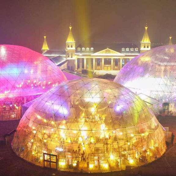 cupola geodetica eventi