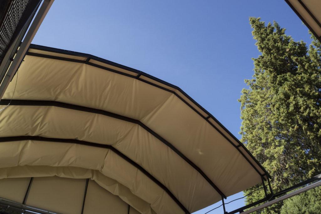 tetto copertura padel