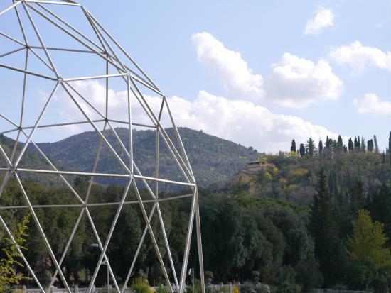 cupole geodetiche tubolari in acciaio