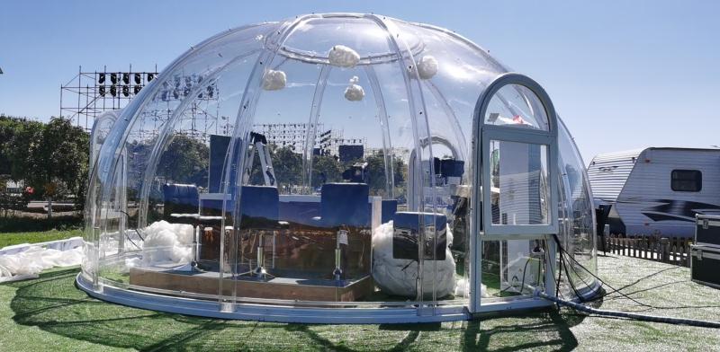 Cupole in Policarbonato: la soluzione ideale per stupire e proteggere i tuoi ospiti