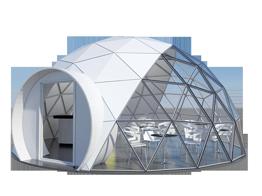 cupola geodetica fai da te