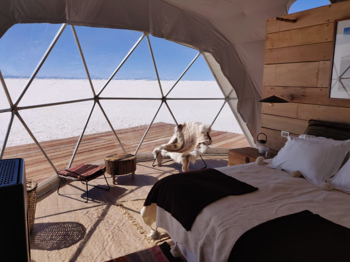 glamping in cupola geodetica